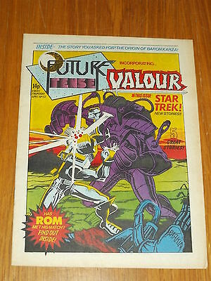 Future Tense And Valour #22 Marvel British Weekly 1 April 1981 Star Trek Rom
