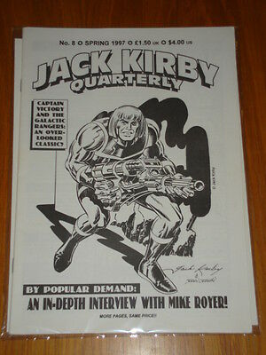 Jack Kirby Collector Quarterly Magazine #8 Spring 1997