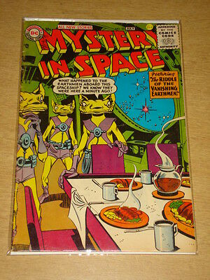 Mystery In Space #32 Vg+ (4.5) Dc Comics July 1956 **