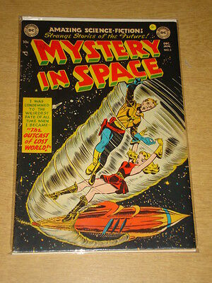 Mystery In Space #5 Fn- (5.5) Dc Comics December 1951 **