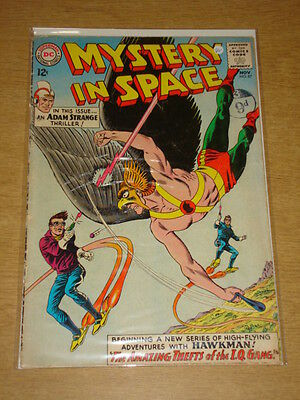 Mystery In Space #87 Vg- (3.5) Dc Comics November 1963 **