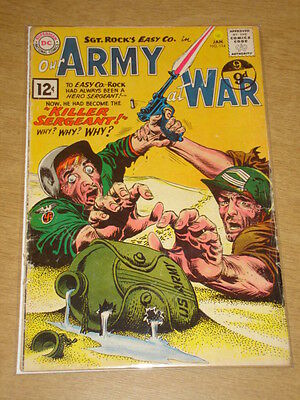 Our Army At War #114 Vg (4.0) Dc Comics January 1962 **