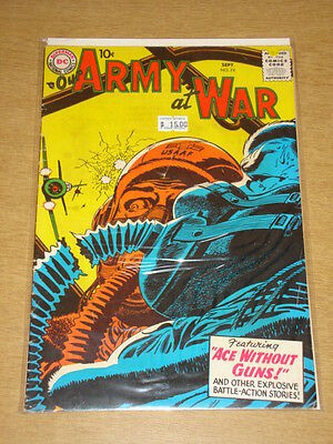 Our Army At War #74 Vg+ (4.5) Dc Comics September 1958 **