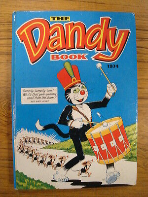 Dandy British Annual 1974 Korky Nice Condition