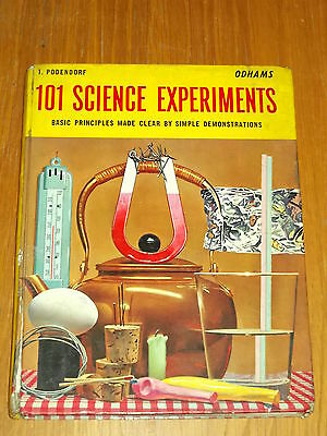 101 Science Experiments 1960 Odhams British Annual