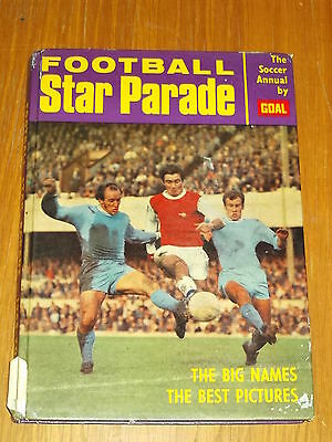 Football Star Parade 1969-1970 British Soccer Annual By Goal