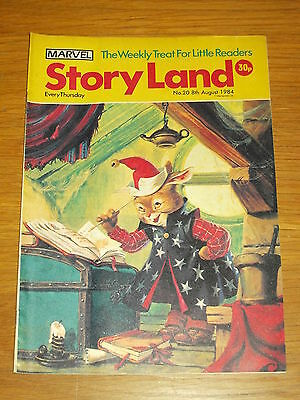 Storyland #20 8Th August 1984 Marvel British Weekly Gullivers Travels