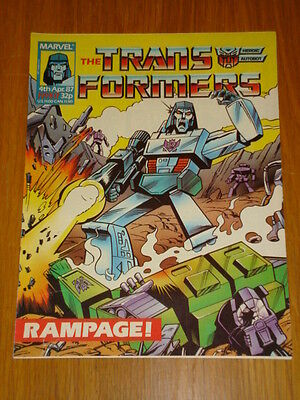 Transformers British Weekly #107 Marvel Uk Comic 1987