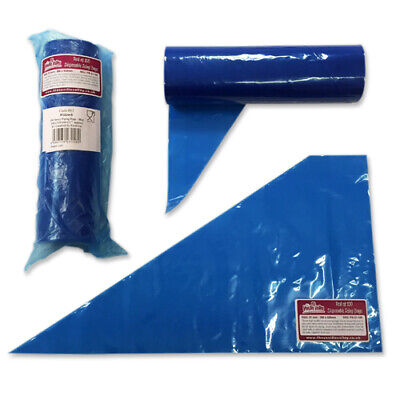 Icing Bags Disposable - 21 INCH 100 BAGS  - Piping Bags for Cake Decorating