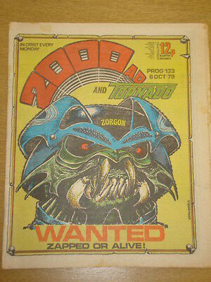 2000Ad #133 British Weekly Comic Judge Dredd Oct 1979 *