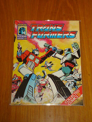 Transformers British Weekly Special Comic #13 1989