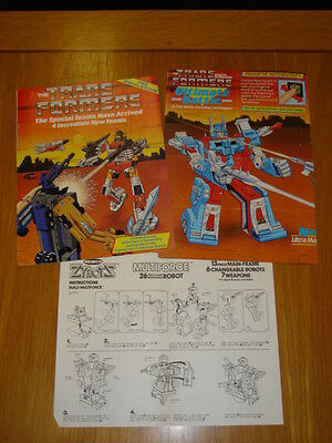 Transformers Special Teams Edition + Selection Of Papers Marvel Comics