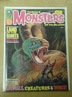 Famous Monsters Of Filmland #55 Vf Warren Horror Magazine