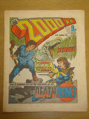2000Ad #70 British Weekly Comic Judge Dredd *