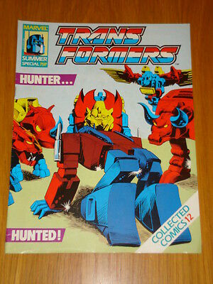Transformers Summer Special Collected Comics #12 Marvel June 1989