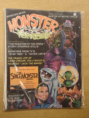 Monster Fantasy #4 Vg Mayfair Horror Magazine