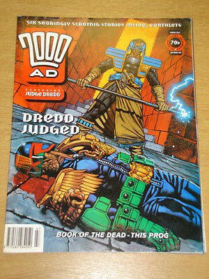 2000Ad #862 British Weekly Comic Judge Dredd *