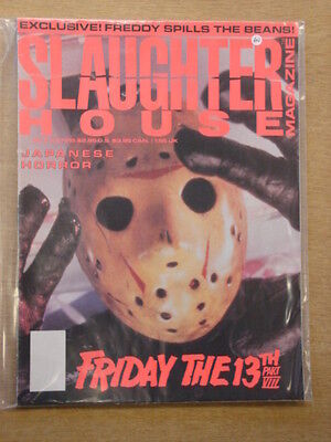 Slaughter House #5 Fn Hsc Association Horror Magazine Friday The 13Th