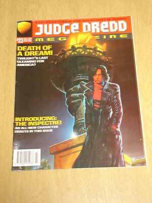 2000Ad Megazine #23 Vol 3 Judge Dredd*