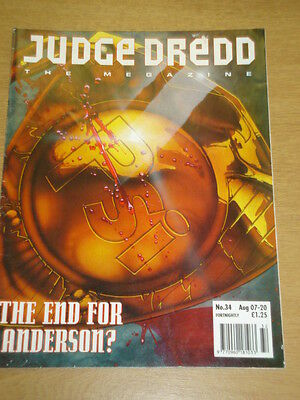 2000Ad Megazine #34 Vol 2 Judge Dredd*