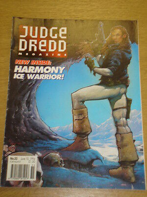 2000Ad Megazine #55 Vol 2 Judge Dredd*
