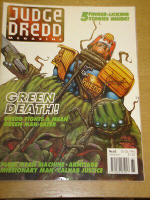 2000Ad Megazine #65 Vol 2 Judge Dredd*