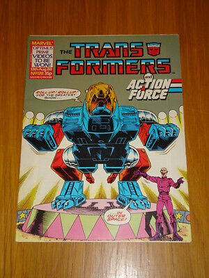 Transformers British Weekly #178 Marvel Uk Comic 1988