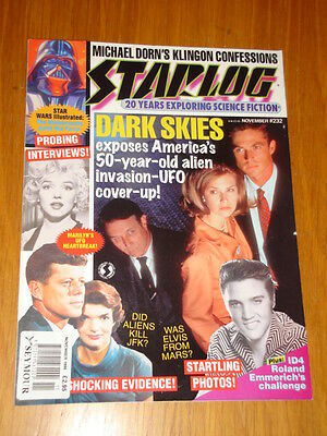 Starlog #232 Sci-Fi Magazine November 1996 Dark Skies Michael Dorn Star Wars
