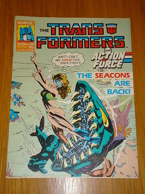 Transformers British Weekly #194 Marvel Uk Comic 1988