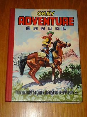 Okay Adventure Annual British Hb Book Purnell 1950S 60S