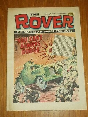 Rover 26Th February 1972 British Weekly