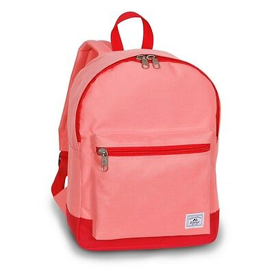 Everest Two-Tone Classic Backpack Carry Shoulder Bag