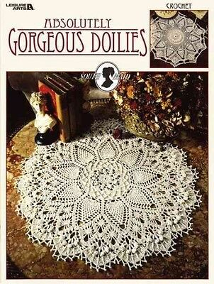 Absolutely Gorgeous Doilies (Leisure Arts #2879) by Patricia Kristoffersen Paper