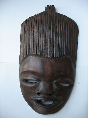 Genuine Handcrafted Ironwood Native Mask made in South Africa by Natives