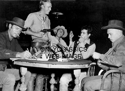 1960 Steve Mcqueen Gun The Magnificent Seven Cowboy Outlaw Photo Coburn Brynner