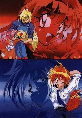 SLAYERS Anime Shitajiki Pencil Board LINA & GOURRY #B