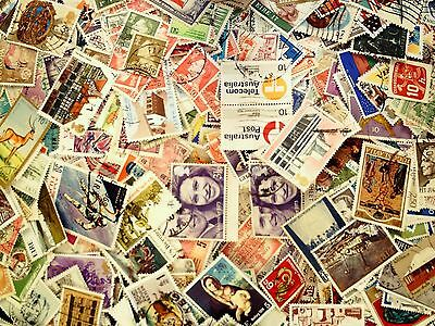 200 Stamps of the World From a Large Accumulation