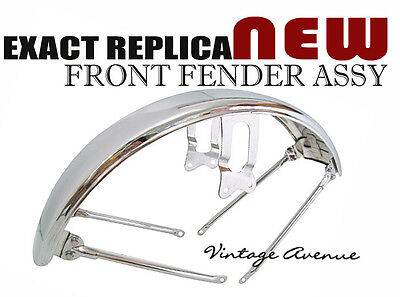 [Fy3] Brand New Yamaha Rd250 Rd350 A/b 1973 1974 1975 Chrome Plated Front Fender