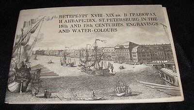 St. Petersburg in 18th & 19th Centuries 16 Cards Prints VTG 1971 USSR