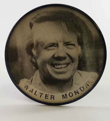 Jimmy Carter Walter Mondale Flasher Campaign Button