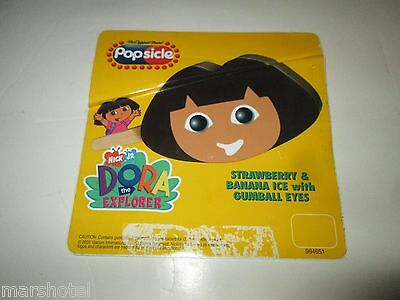 Popsicle Good Humor Ice Cream Truck Sticker Dora The Explorer Nickelodeon
