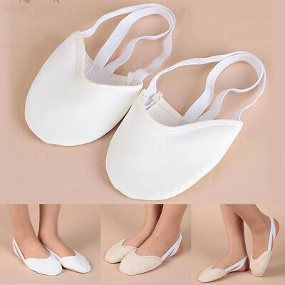 Half Leather Sole ballet pointe Dance Shoes Rhythmic Gymnastics Slippers Foot