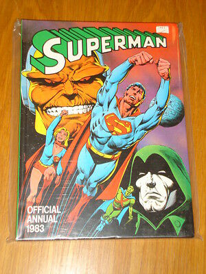 Superman Official British Annual 1983 Vf
