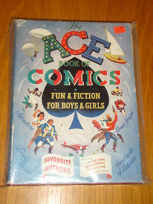 Ace Book Of Comics Fun & Fiction For Boys & Girls British Annual 1940 Vg