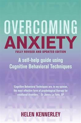 Overcoming Anxiety: A Books on Prescription Titl, Kennerley, Helen, New