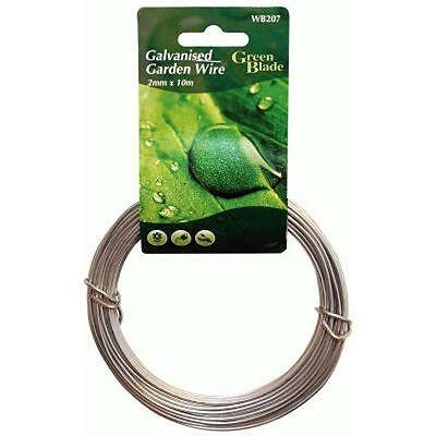 2MM x 10M Heavy Strong Duty Galvanised Garden Wire Hanging Wire Fencing Picture