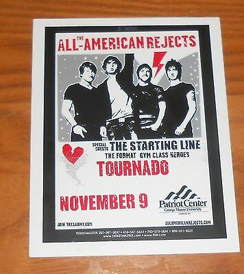 The All-American Rejects Postcard Original Promo 5.5x4.5