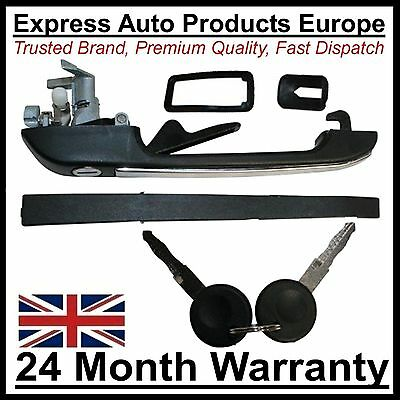 Door Handle with Lock & 2 Keys LEFT VW Passat to 1988 Caddy Pickup Mk1
