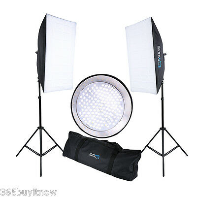 144 LED Continuous Lighting Studio Light Lamp Photography Stand+ 50x70cm Softbox