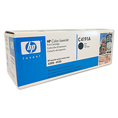 HP OEM LaserJet Black Print Cartridge C4191A
